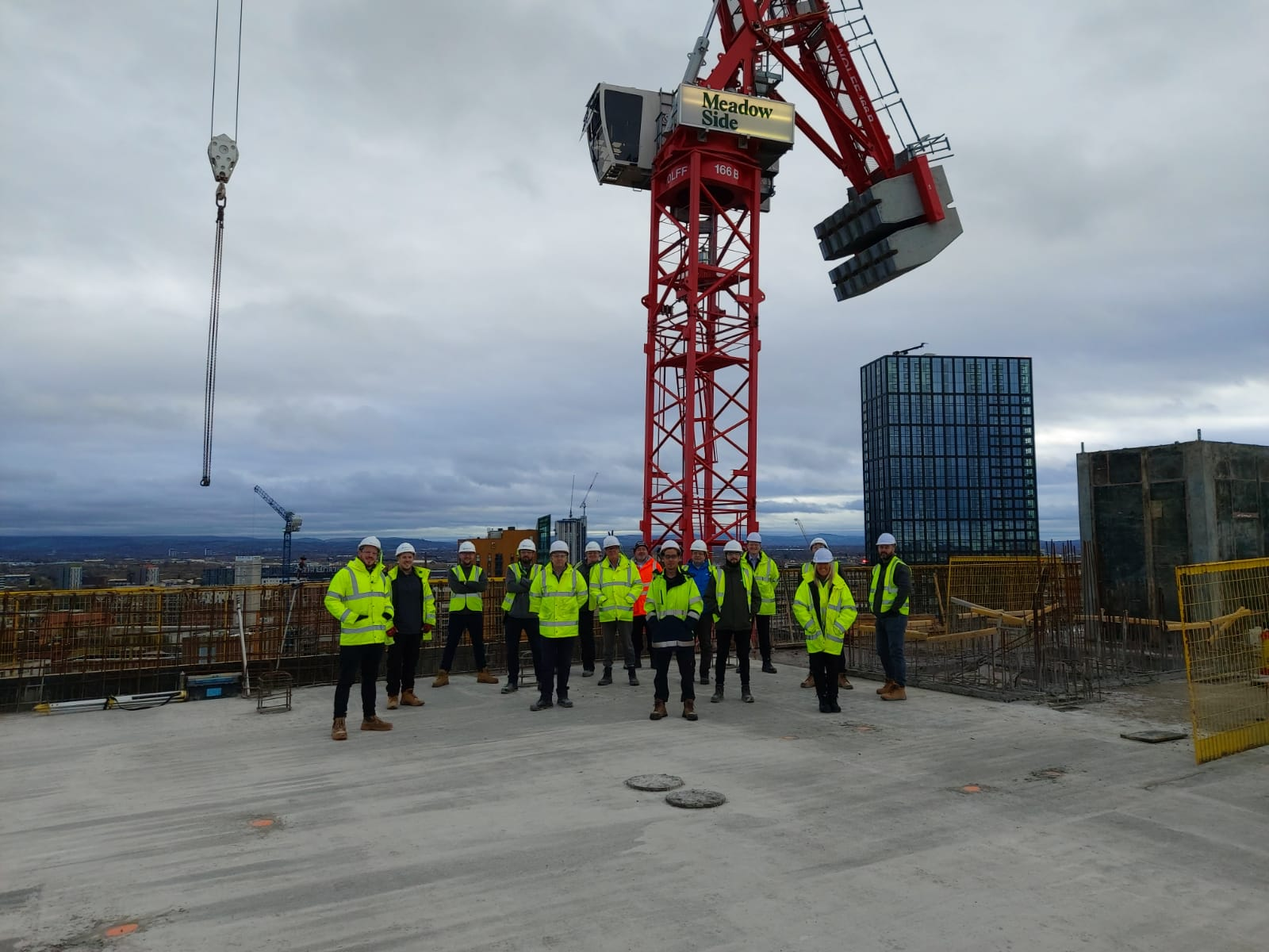 Meadowside Topping Out